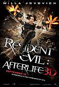 RESIDENT EVIL AFTERLIFE New poster and new trailer for RESIDENT EVIL  AFTERLIFE
